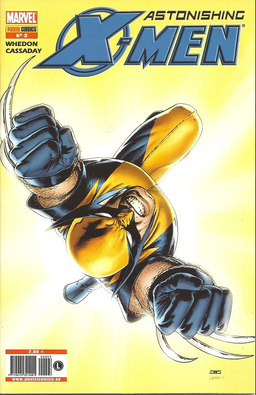 Couverture de Astonishing X-Men (en espagnol) -3- El don
