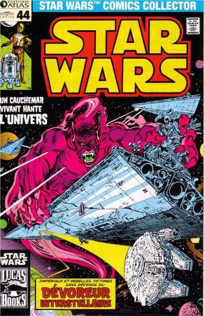 Couverture de Star Wars (Comics Collector) -44- Numéro 44