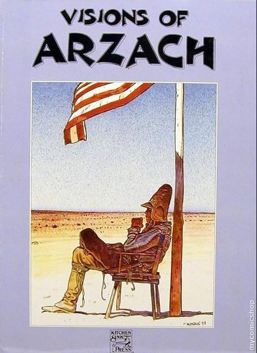 Couverture de Arzach (en anglais) -HS- Visions of arzach