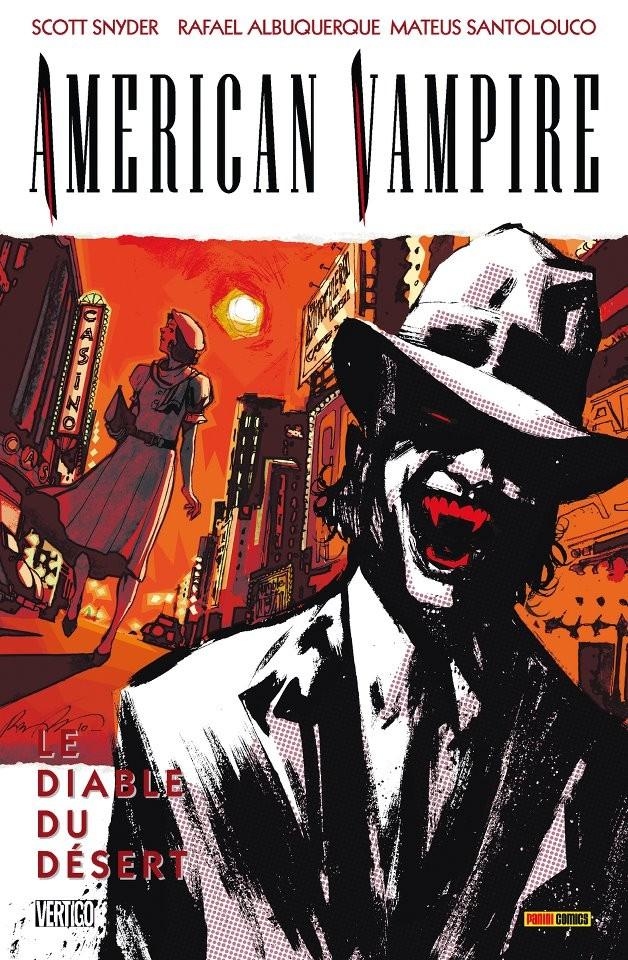 Couverture de American Vampire -2- Le diable du désert