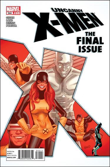 Couverture de Uncanny X-Men (The) (1963) -544- The final issue