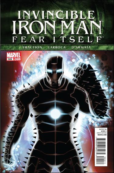Couverture de Invincible Iron Man (2008) -509- Fear itself part 6 : mercy