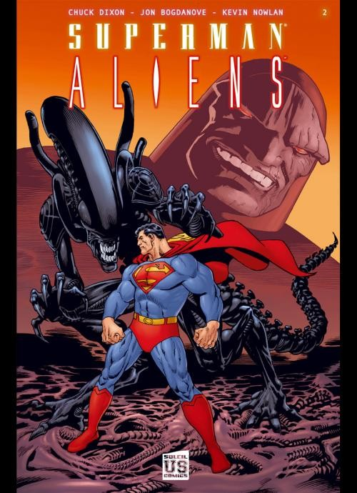 Couverture de Superman / Aliens -2- Superman Aliens