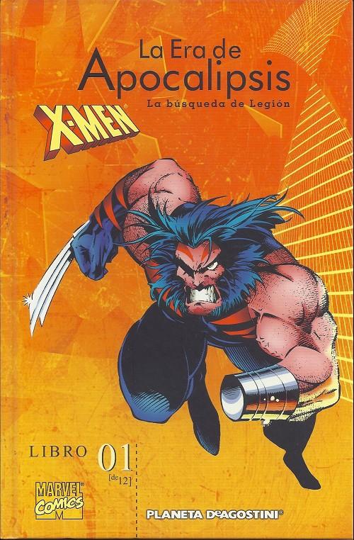 Couverture de X-Men: la era de Apocalipsis -1- La búsqueda de legión