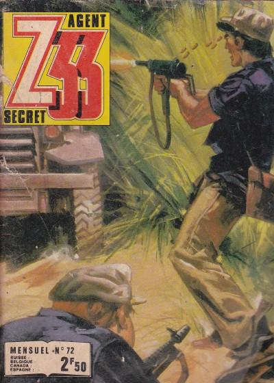 Couverture de Z33 agent secret -72- Le secret du docteur Krampus