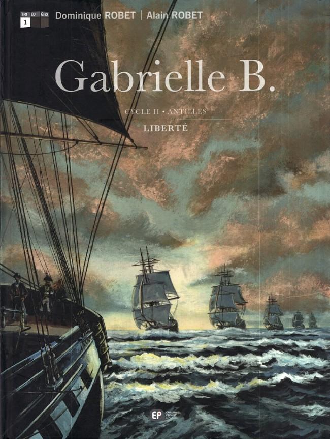 Couverture de Gabrielle B. -4- Liberté