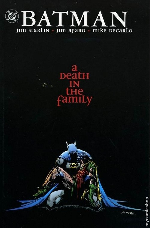 Couverture de Batman (1940) -INT- A Death in the Family