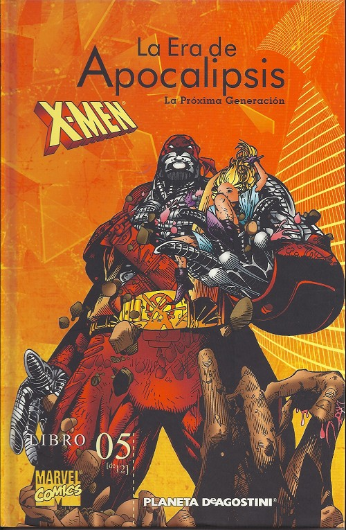 Couverture de X-Men: la era de Apocalipsis -5- La próxima generación
