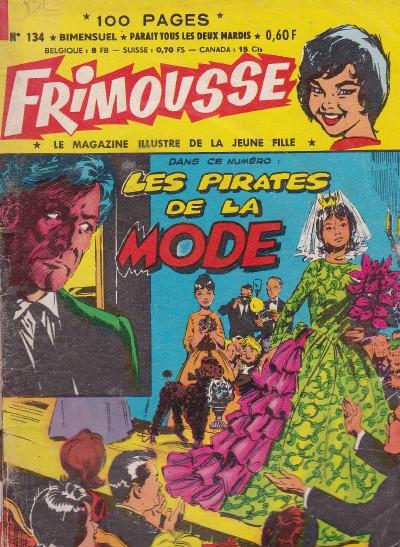 Couverture de Frimousse et Frimousse-Capucine -134- Les pirates de la mode