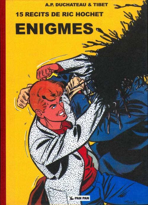 Couverture de Ric Hochet -HS8- Enigmes