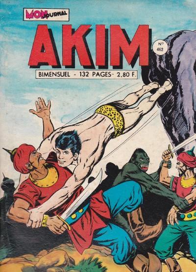 Couverture de Akim (1re série) -462- La révolte des Putras