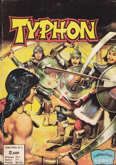 Couverture de Typhon -2- Le secret du trésor perdu