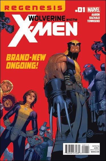 Couverture de Wolverine and the X-Men Vol.1 (Marvel comics - 2011) -1- Welcome to the X-Men ! Now die!