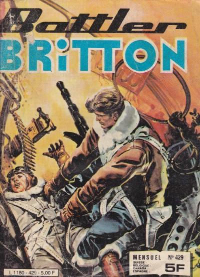 Couverture de Battler Britton -429- La base secrète