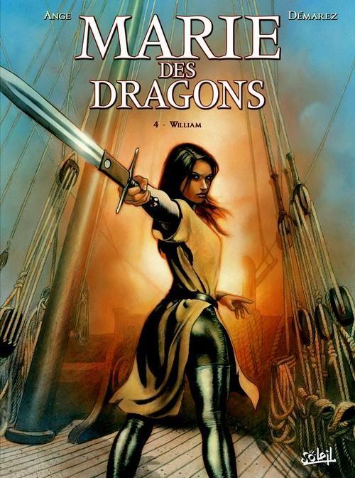 Couverture de Marie des dragons -4- William