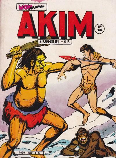 Couverture de Akim (1re série) -529- Les géants du néant