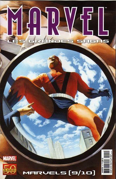 Couverture de Marvel (Les grandes sagas) -HS09- Marvels (9/10)