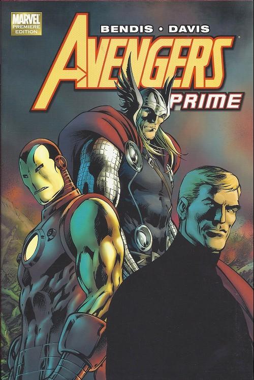 Couverture de Avengers Prime (2010) -INTHC- Avengers Prime
