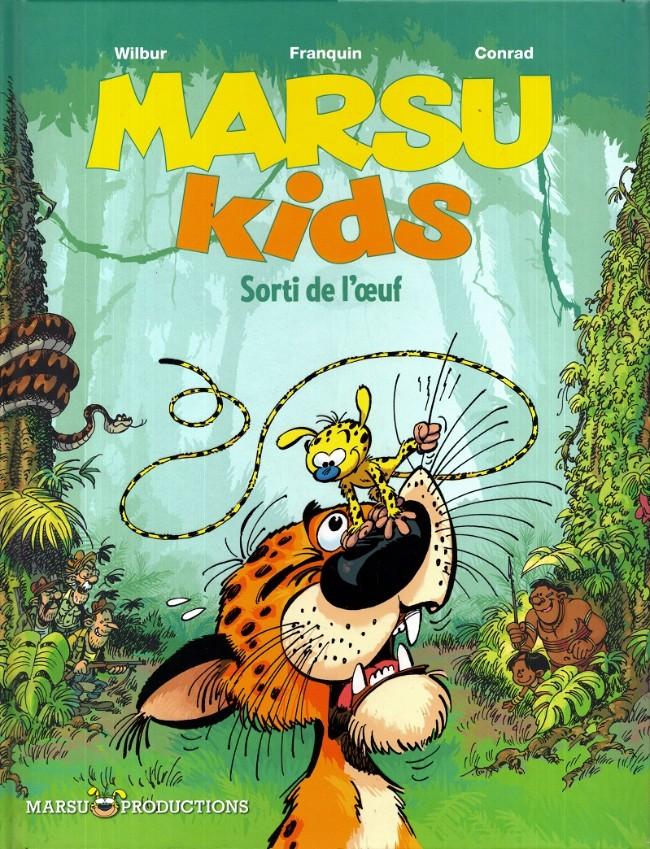 Couverture de Marsu Kids -1- Sorti de l'œuf