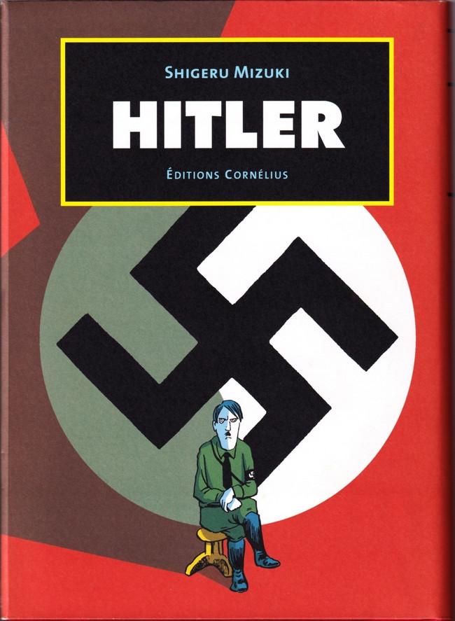 Couverture de Hitler (Mizuki) - Hitler