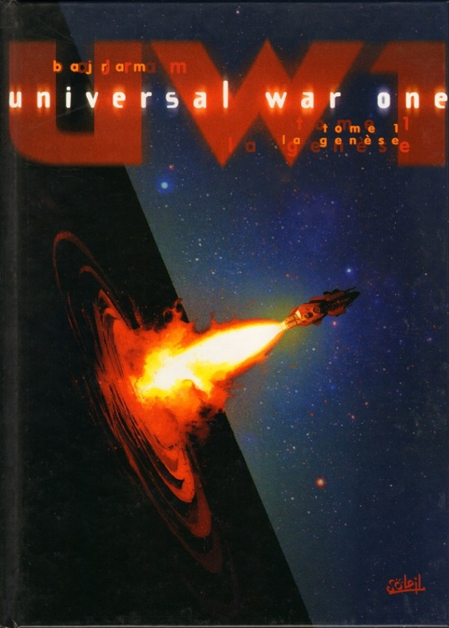 Couverture de Universal War One -1- La genèse