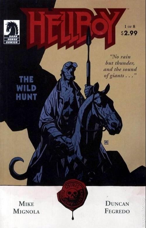 Couverture de Hellboy (1994) -37- The wild hunt 1