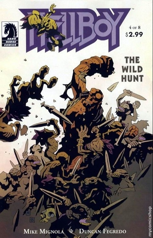 Couverture de Hellboy (1994) -40- The wild hunt 4