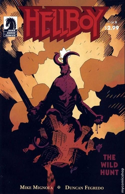Couverture de Hellboy (1994) -43- The wild hunt 7