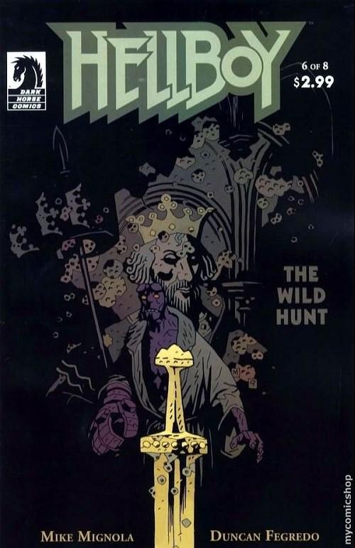 Couverture de Hellboy (1994) -42- The wild hunt 6