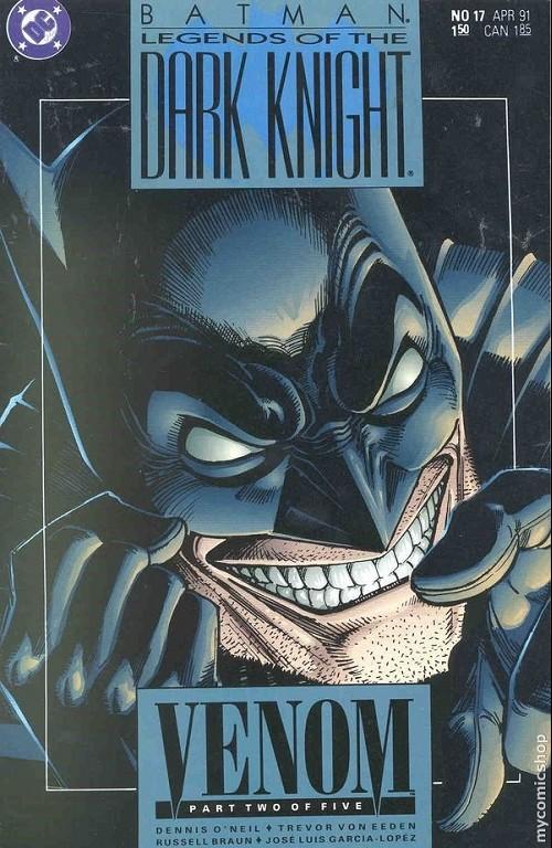 Couverture de Batman: Legends of the Dark Knight (1989) -17- Venom 2
