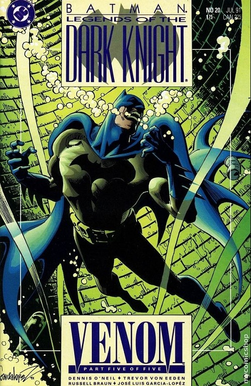 Couverture de Batman: Legends of the Dark Knight (1989) -20- Venom 5