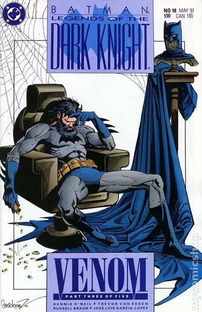 Couverture de Batman: Legends of the Dark Knight (1989) -18- Venom 3