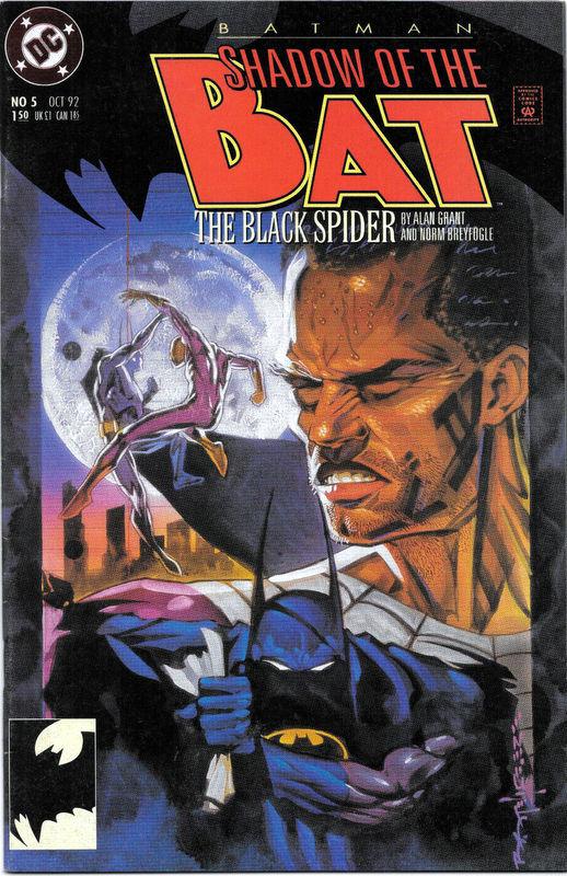 Couverture de Batman: Shadow of the Bat (1992) -5- The black spider