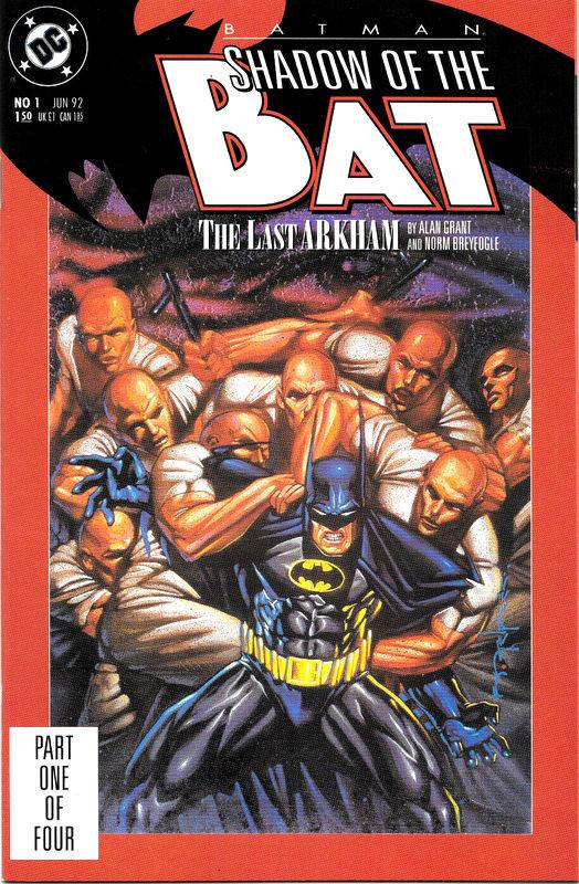 Couverture de Batman: Shadow of the Bat (1992) -1- The last arkham