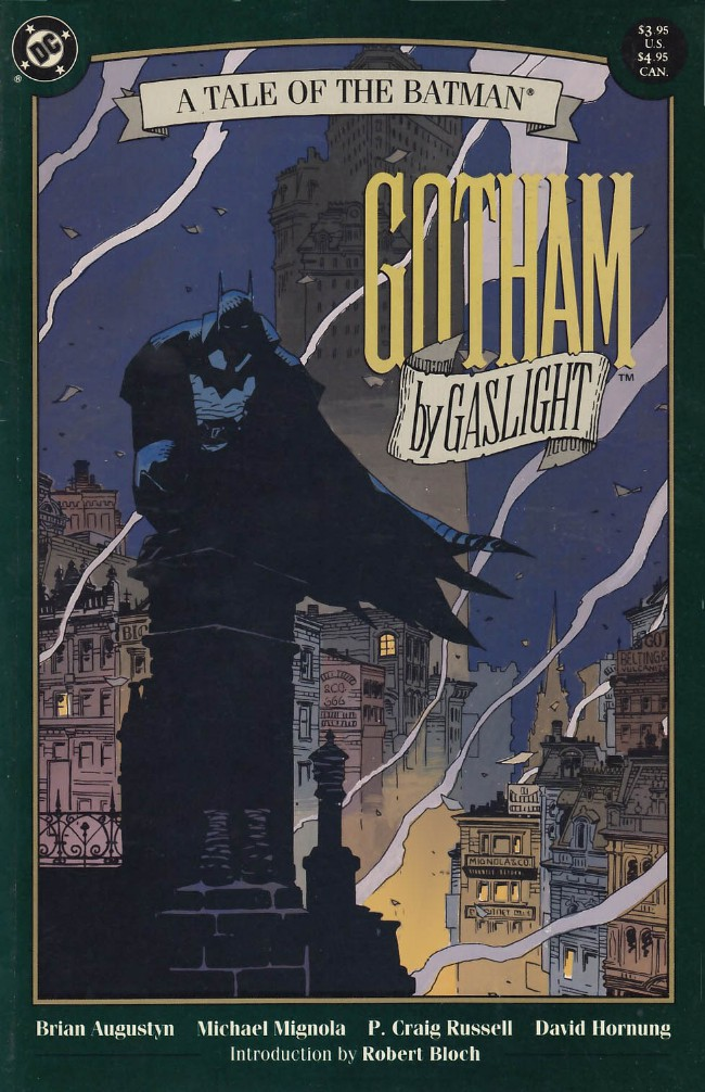 Couverture de Batman (One shots - Graphic novels) -OS- Gotham by Gaslight: An Alternate History of the Batman