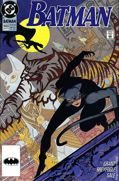 Couverture de Batman (1940) -460- It's a man's world
