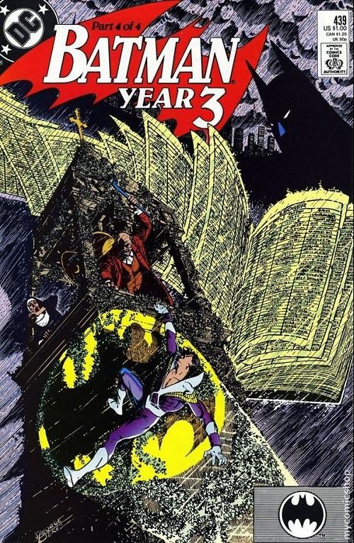 Couverture de Batman Vol.1 (DC Comics - 1940) -439- Year three