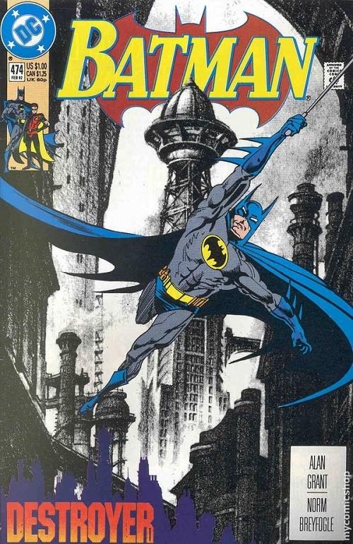 Couverture de Batman Vol.1 (DC Comics - 1940) -474- Batman