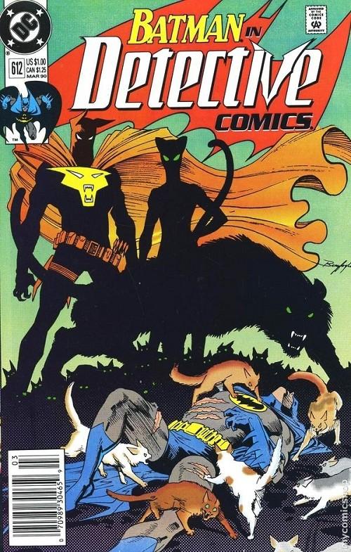 Couverture de Detective Comics (1937) -612- Detective comics : batman
