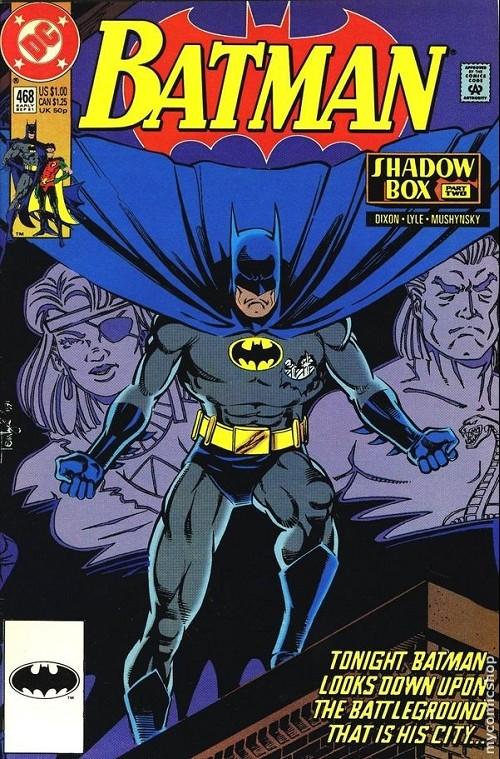 Couverture de Batman (1940) -468- Batman