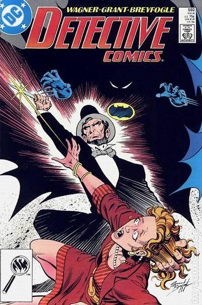 Couverture de Detective Comics (1937) -592- Detective comics : batman