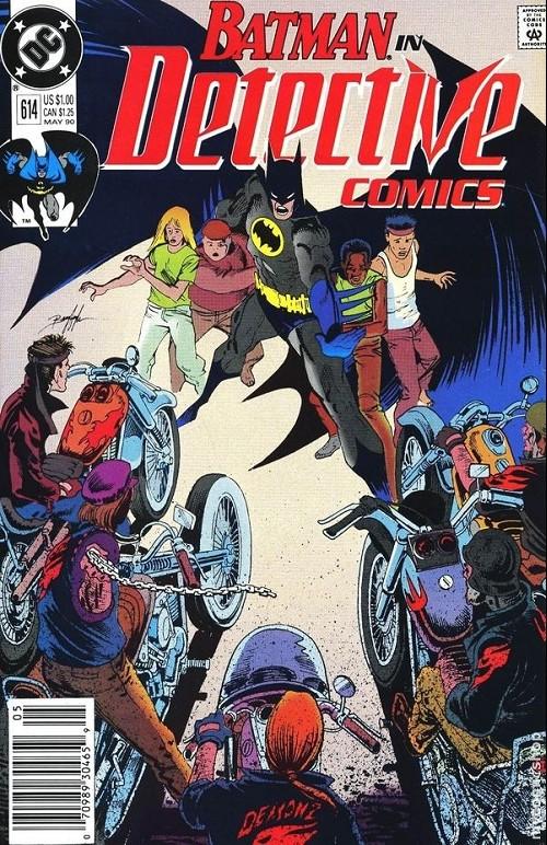 Couverture de Detective Comics (1937) -614- Detective comics : batman