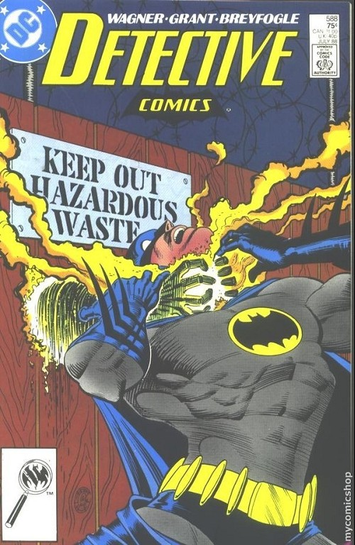 Couverture de Detective Comics (1937) -588- Detective comics : batman