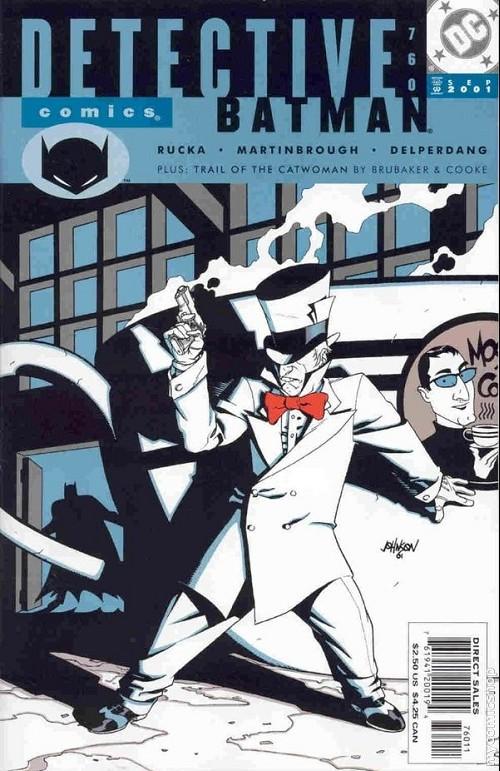 Couverture de Detective Comics (1937) -760- Detective Comics: Batman