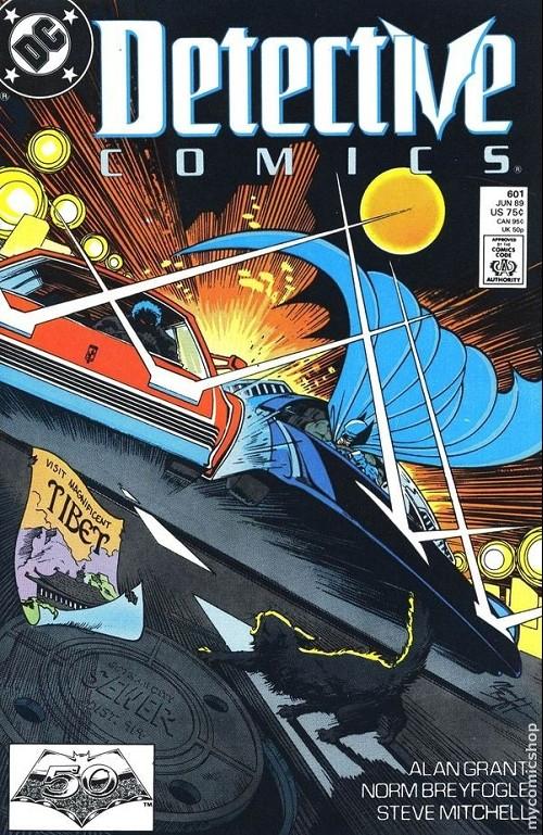 Couverture de Detective Comics (1937) -601- Detective comics : batman