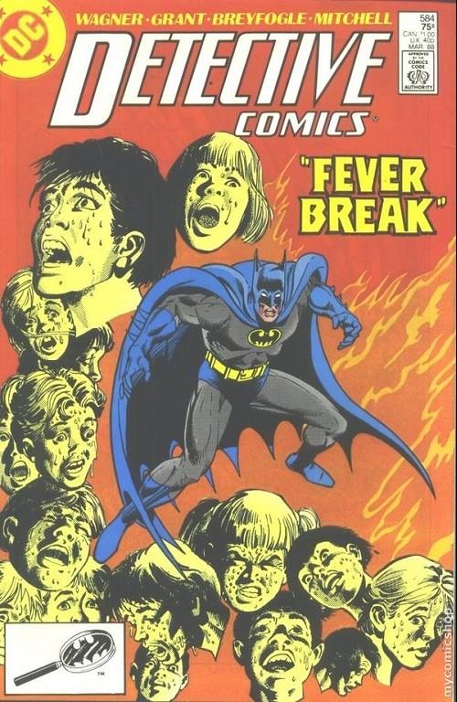 Couverture de Detective Comics (1937) -584- Detective Comics: Batman