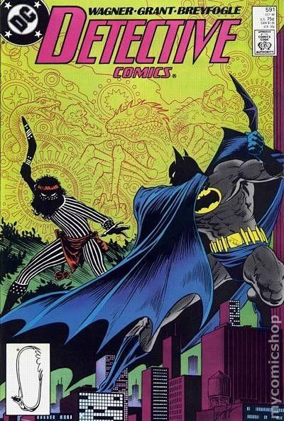 Couverture de Detective Comics (1937) -591- Detective comics : batman