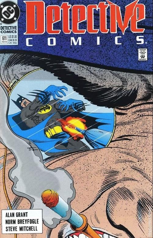 Couverture de Detective Comics (1937) -611- Detective Comics: Batman