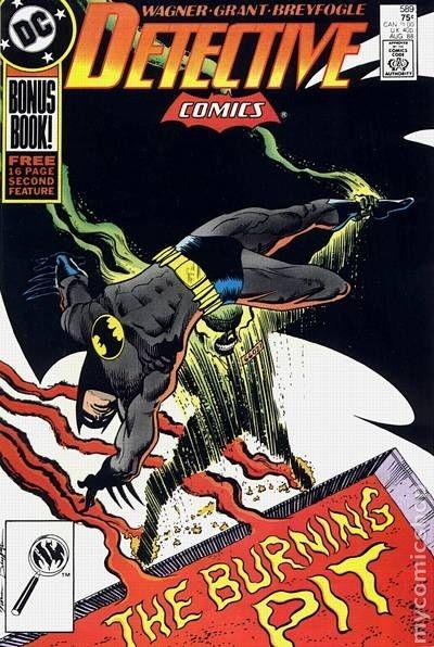 Couverture de Detective Comics (1937) -589- Detective Comics: Batman