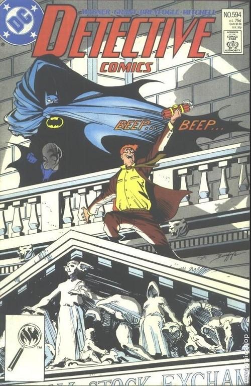 Couverture de Detective Comics (1937) -594- Detective comics : batman